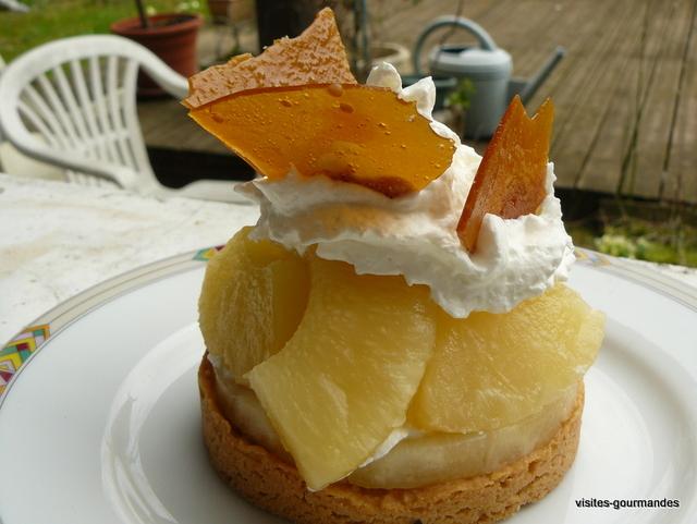 Ananas caramel mousse ti punch