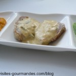 Filet mignon au romarin et sauce moutarde à la crème