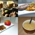 Pommes et noix pour des recettes sucrées et salées