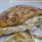 Délicieux, blancs de poulet au boursin et tandoori