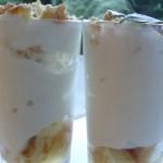En attendant les Pouilles, mousse de fromage blanc au limoncello