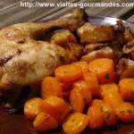 Cuisses de poulet et garam massala