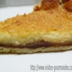 Tarte au mascarpone et crème de marrons