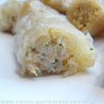 Rouleaux de feuilles de riz au poisson (façon nems)
