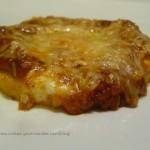 Polenta comme une pizza