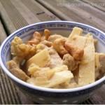 Sauté de porc au lait de coco et curry
