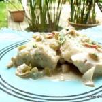 Filet de poisson sauce lait de coco aux épices