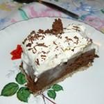 Mon dessert préféré au chocolat et chantilly