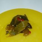 Poivrons grillés (Huile d'olive et vinaigre)