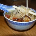Soupe au poulet presque chinoise …