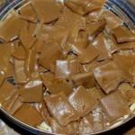 Les délicieux bonbons au caramel et vanille d'Arthur.
