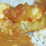 Curry de poisson au wok.