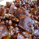 Gourmandises des fêtes : le nougat noir aux amandes