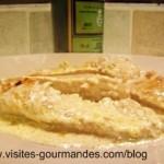 Blancs de poulet à la Chartreuse Verte et noix fraiche.
