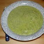 Soupe de courgettes, kiri ou boursin.