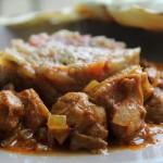 Bollyfood avec un curry d'agneau, aubergines et pains à l'indienne pour la bataille food 23