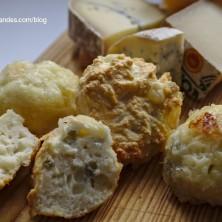 Petites bouchées salées aux fromages du Jura