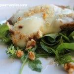 Salade de chèvre chaud et noix