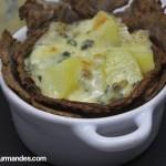 Bleu du Vercors-Sassenage, pommes de terre et galettes de sarrasin