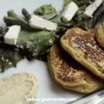 Saint Félicien en galettes, houmous et cumin et curry pour bataille food #44