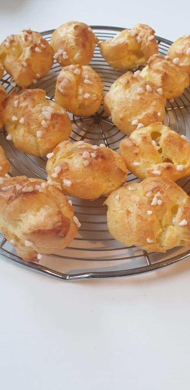 Pâte à choux et chouquettes