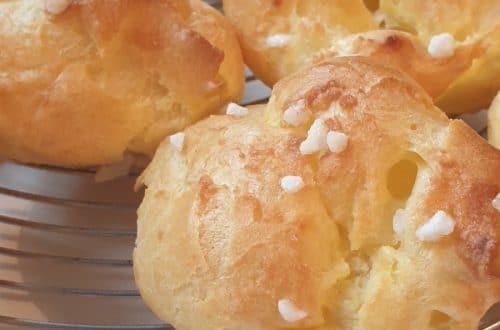 Chouquettes et pâte à choux